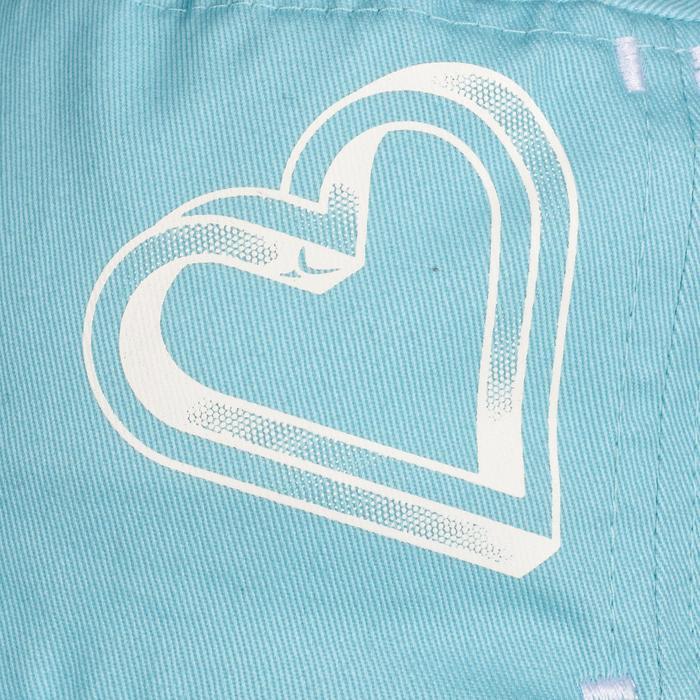 Casquette 500 Gym Baby imprimé turquoise