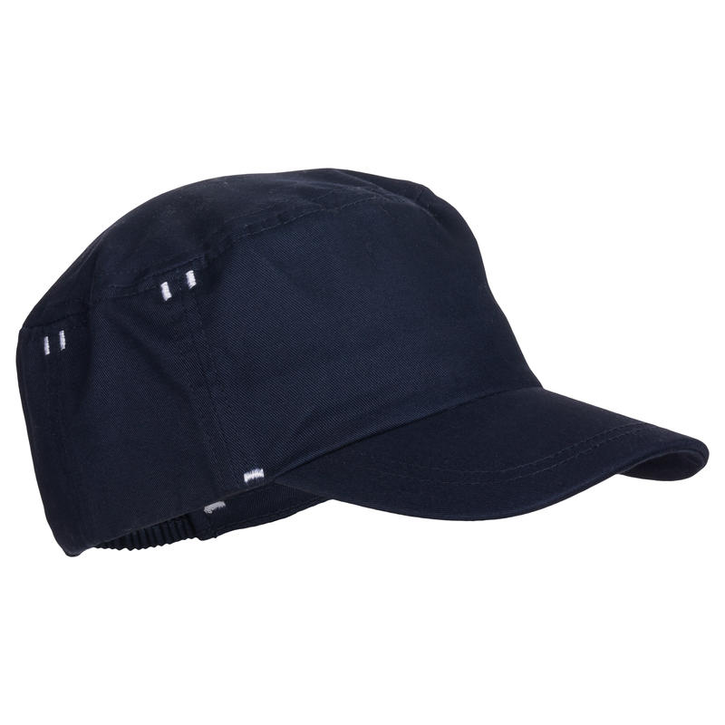 500 Baby Gym Cap - Navy Blue Print