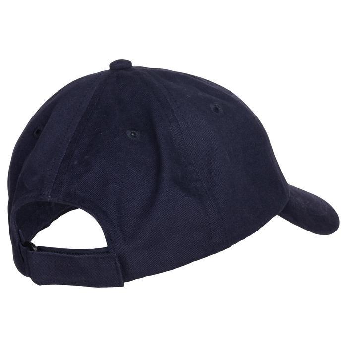 Gorra De Gimnasia Domyos 500 Ajustable Y De Algodón De Niño Azul Estampado f8f56361cb7
