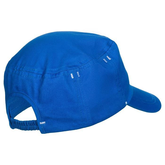 Gorra 500 de gimnasia infantil estampado azul