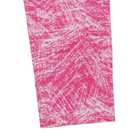 100 Baby Gym Leggings Twin-Pack - Pink Print