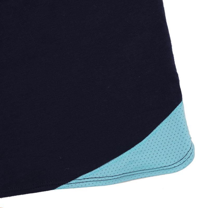 500 Girls' Gym Shorts - Blue Print