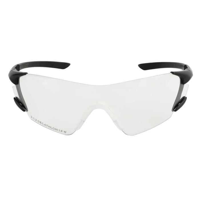 Gafas Ball Trap Solognac Clay 100 Protección Impactos Cristal Neutro