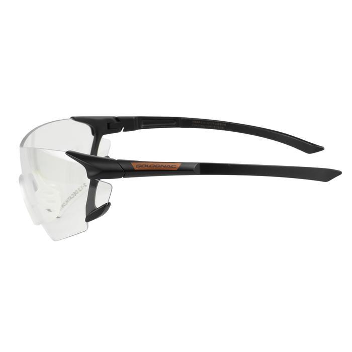 Beschermbril voor sportschieten en jacht neutraal glas