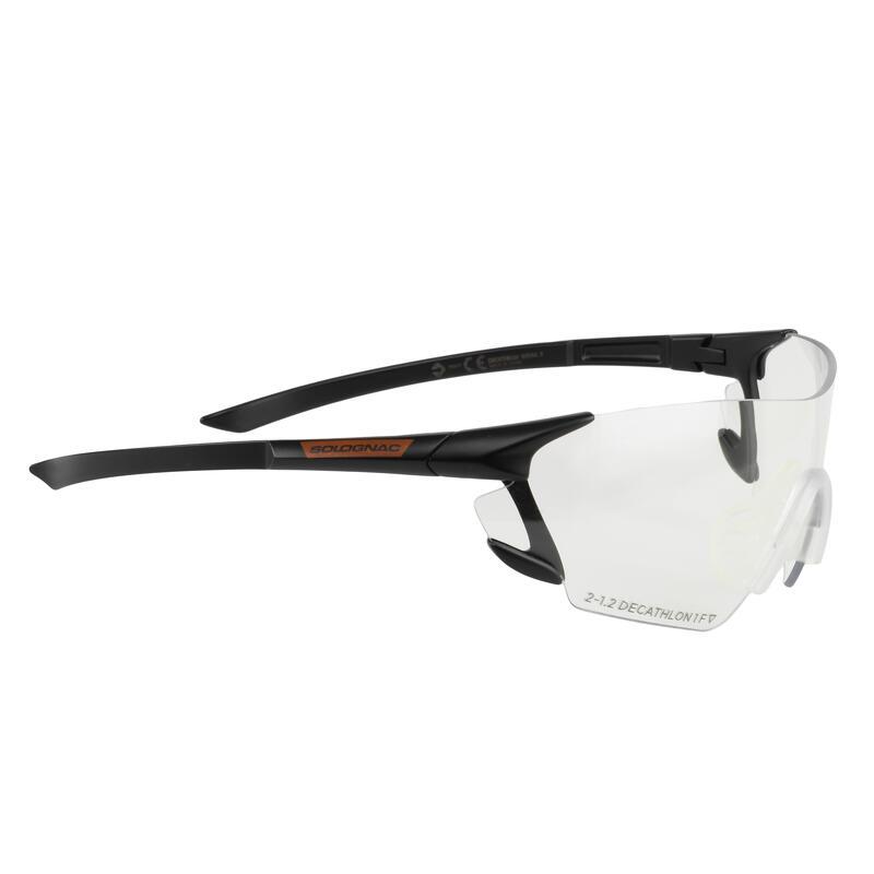 Veiligheidsbril voor schietsport en jacht neutraal glas