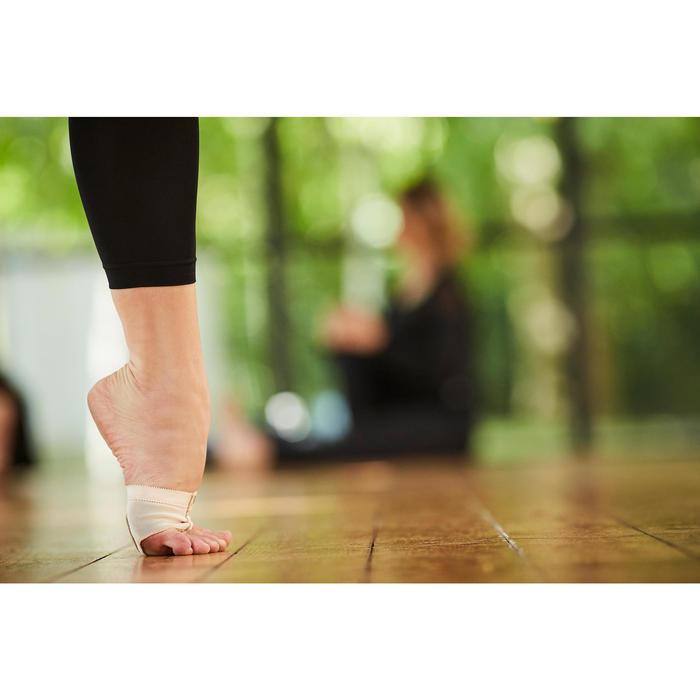 Dansvoetjes voor moderne dans huidskleur