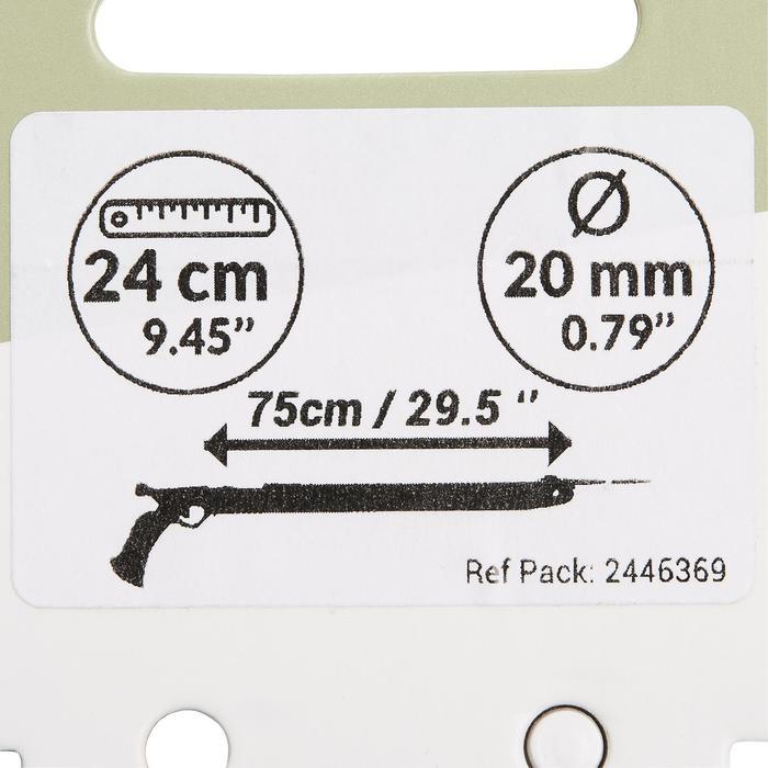 Sandow 2 brins 20mm pour arbalète de chasse sous-marine SPF500