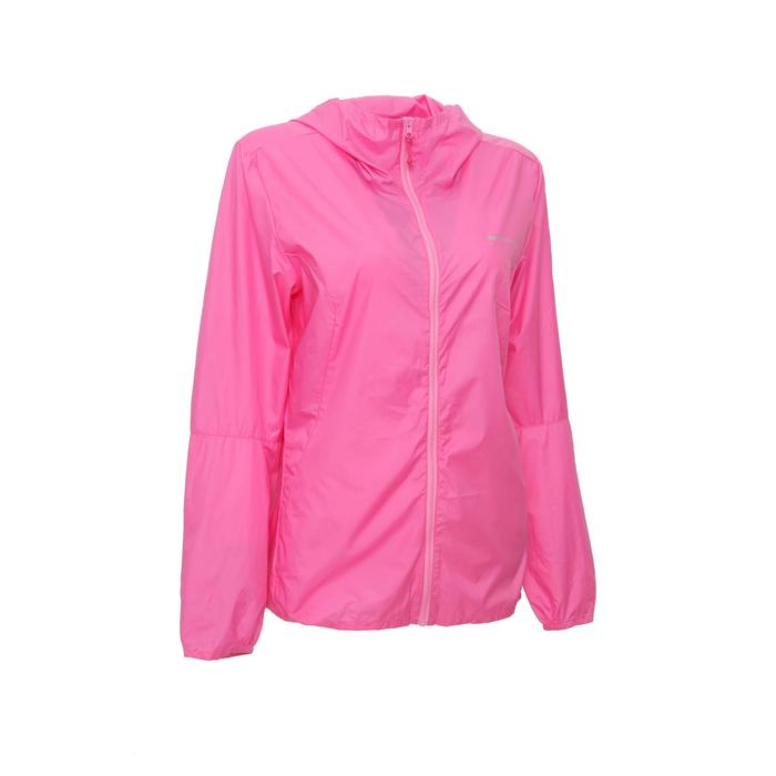 FH100 Helium Wind Women's hiking windproof jacket - Grey - 1335980