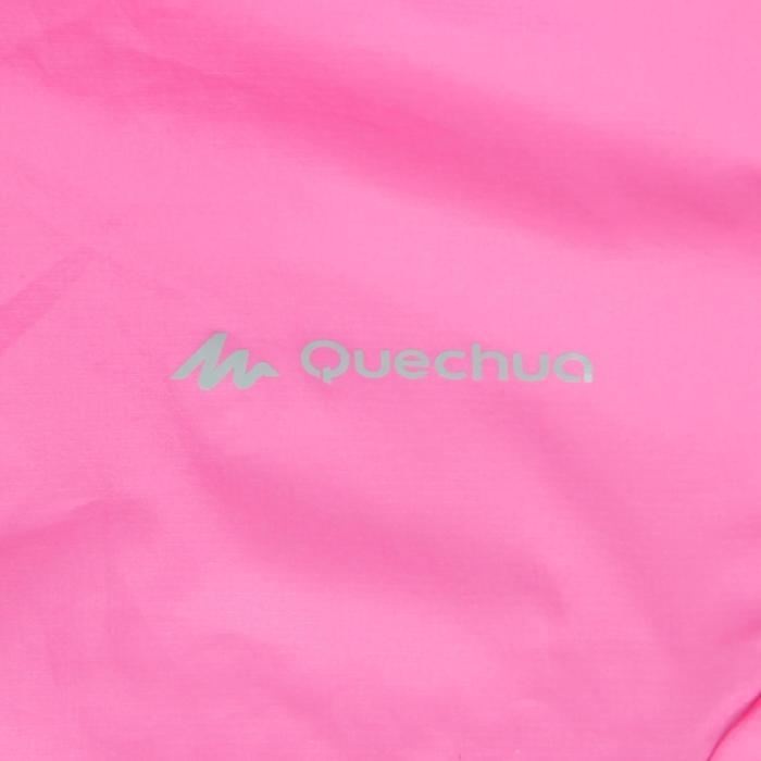 女性防風快速健行運動外套 Helium Wind FH500 - 粉紅