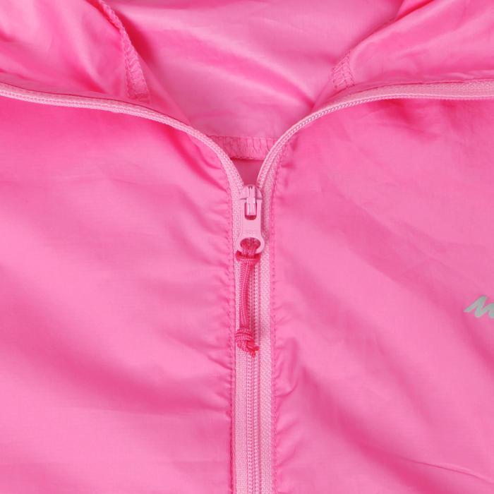 FH100 Helium Wind Women's hiking windproof jacket - Grey - 1335983