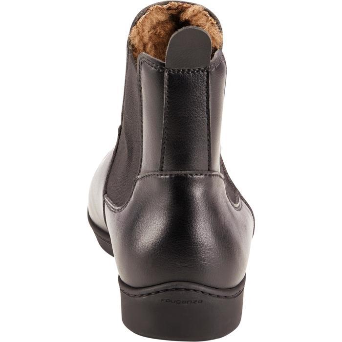 Boots chaudes équitation adulte 500 noir