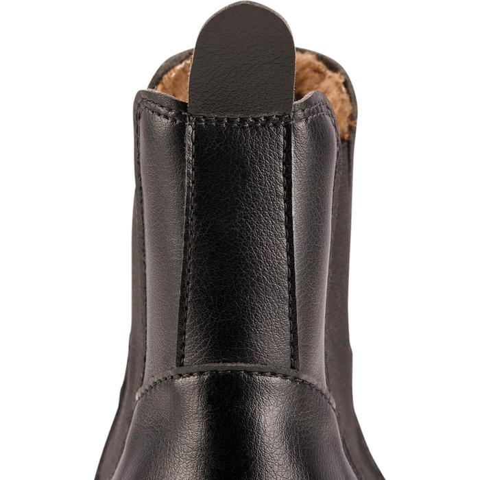 Boots chaudes équitation adulte 500 WARM noir