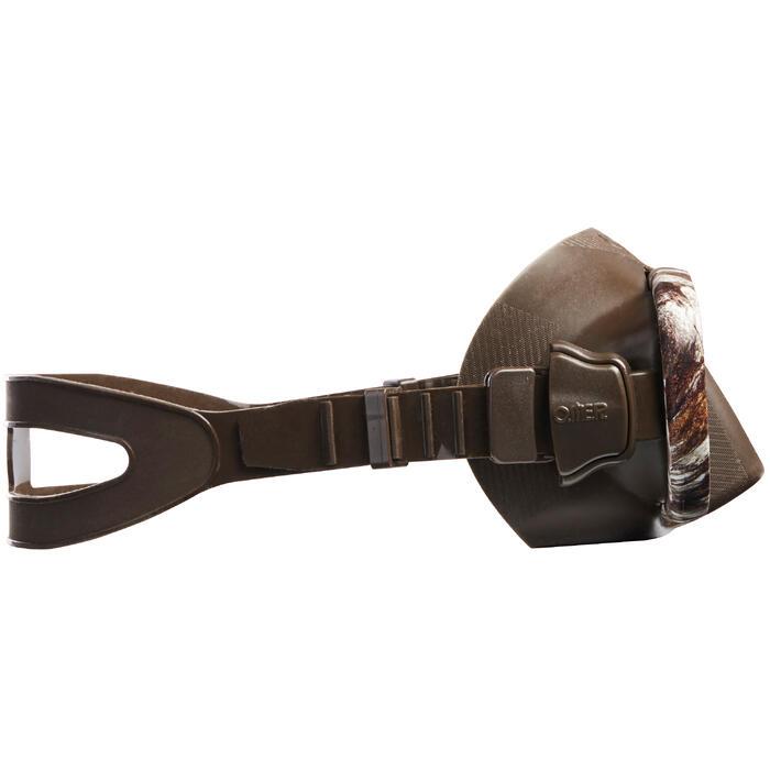 Masque de chasse et d'apnée Alien Camu 3D - 1336135