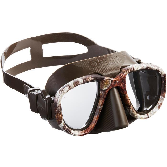 Duikbril Alien Camu 3D voor harpoenvissen en vrijduiken