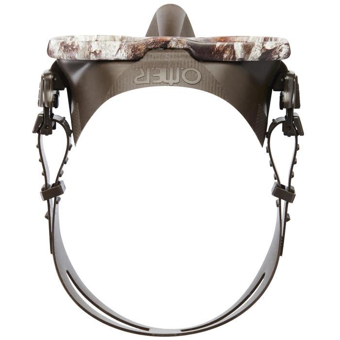 Masque de chasse et d'apnée Alien Camu 3D - 1336138