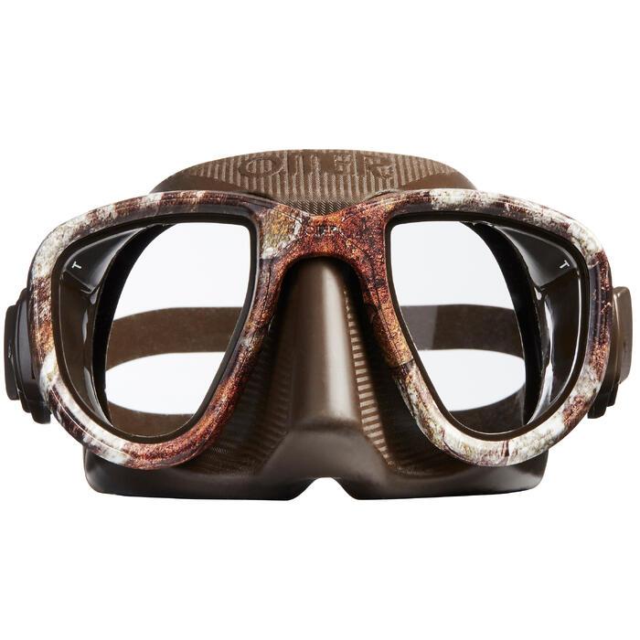 Gafas Apnea Pesca Submarina Omer Alien Camu 3D Adulto Marron Estampado
