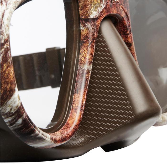 Tauchmaske Apnoetauchen Alien Camu 3D