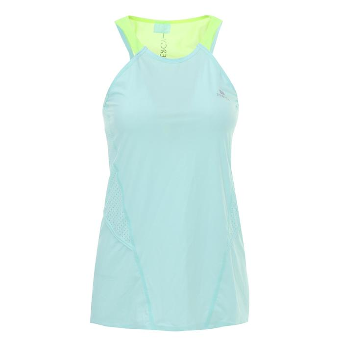 900 Women's Cardio Fitness Tank Top - Blue With White Details - 1336183