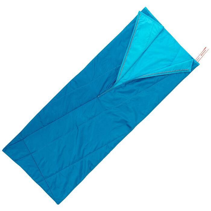 Saco Dormir Camping Quechua 20° Basic Azul