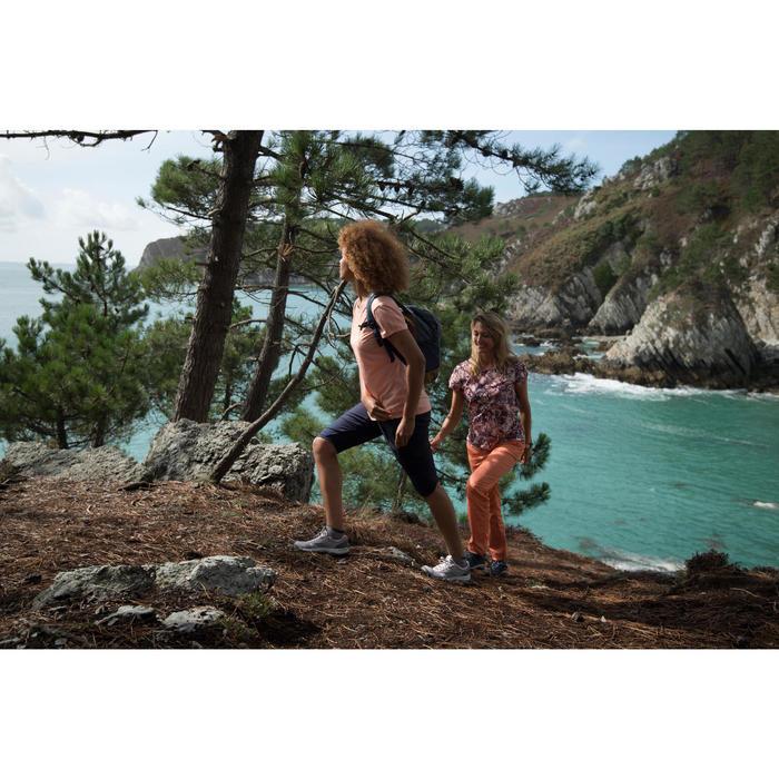 Wandelschoenen voor dames NH300 mid waterdicht groen/kaki