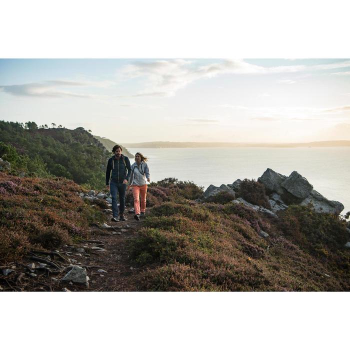 Wanderschuhe Naturwandern NH150 Mid Protect Damen bordeaux