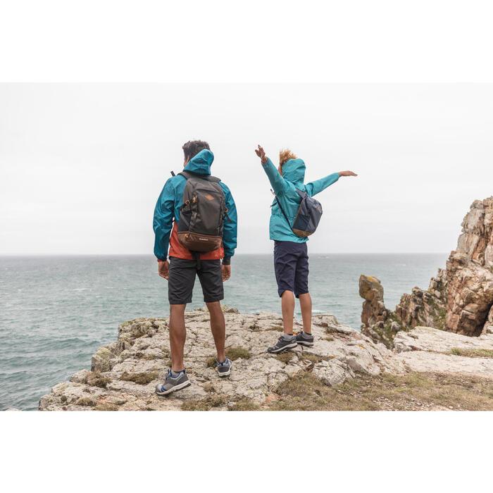 Wanderrucksack Naturwandern NH500 10L grau