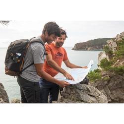 Wandershirt Naturwandern NH500 Herren khaki