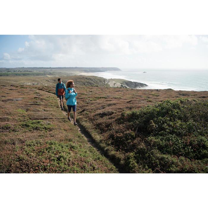 Corsario senderismo naturaleza NH500 Fresh azul marino mujer