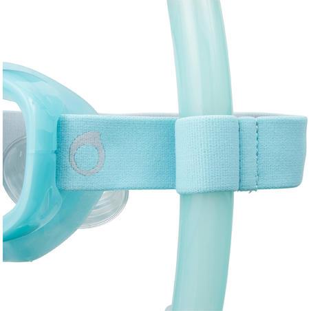 Tubo de Snorkel Buceo Apnea Subea FRD120 Adulto Verde Turquesa
