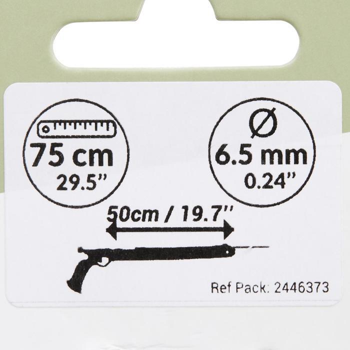 Flecha pesca submarina antirreflejos SPF 500 6,5 mm