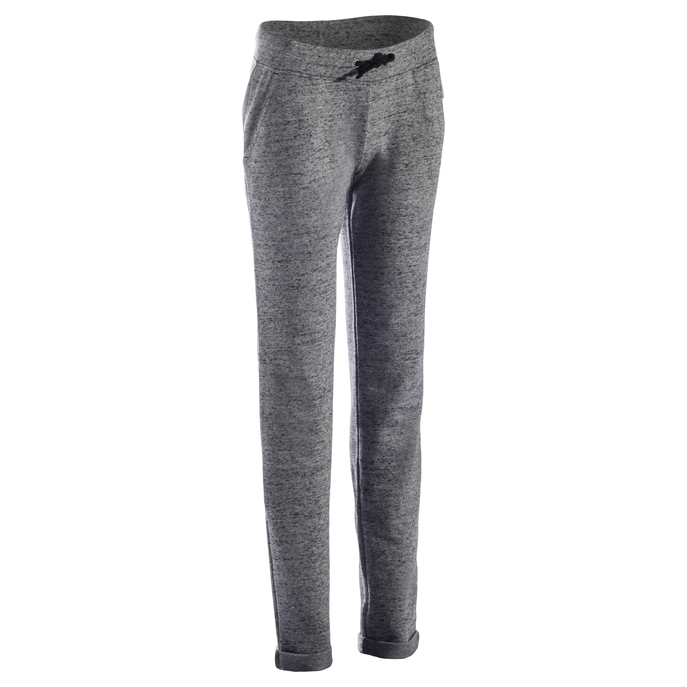 500 Women's Stretching Slim-Fit Bottoms - Speckled Heathered Grey