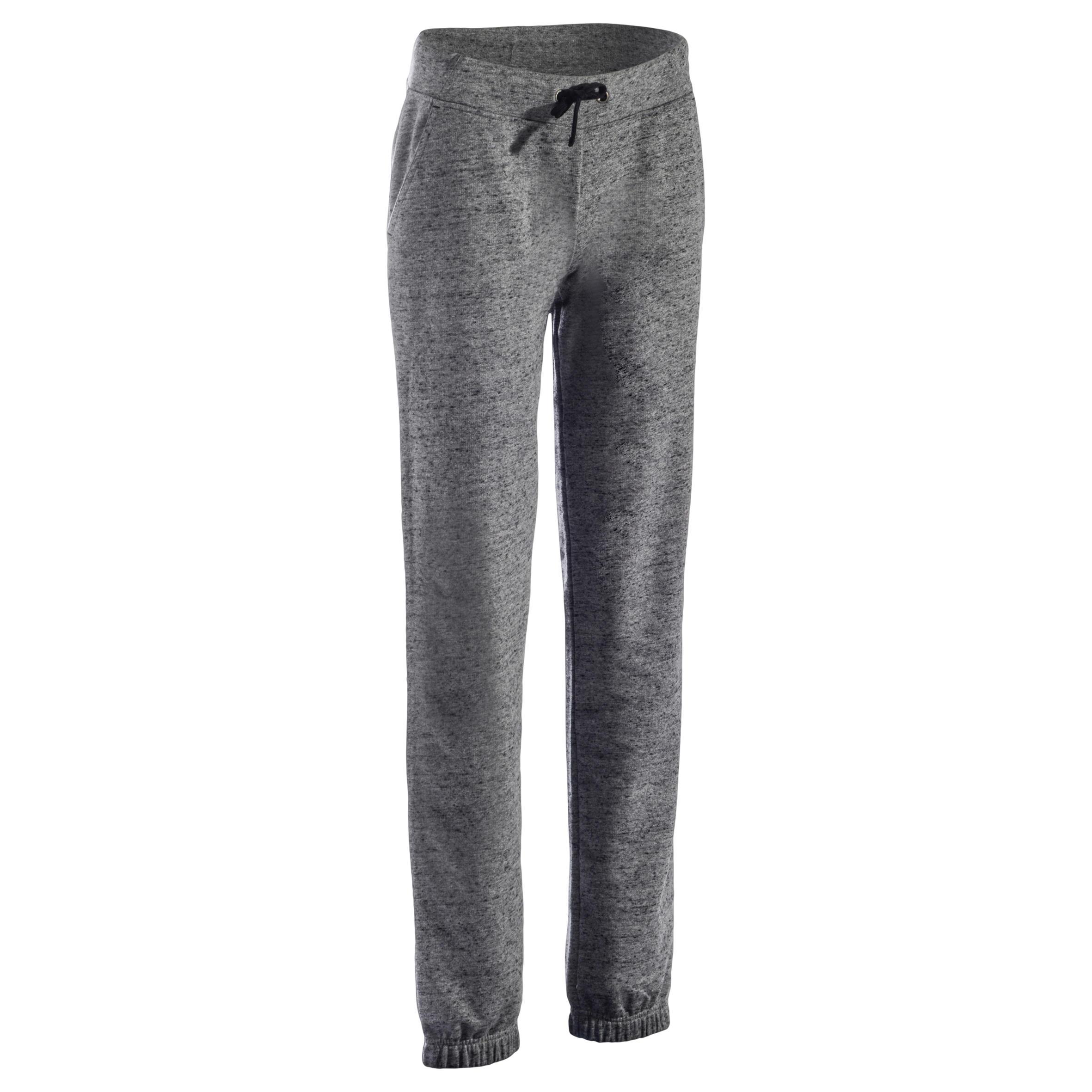 500 Women's Stretching Regular-Fit Bottoms - Dark Heathered Grey