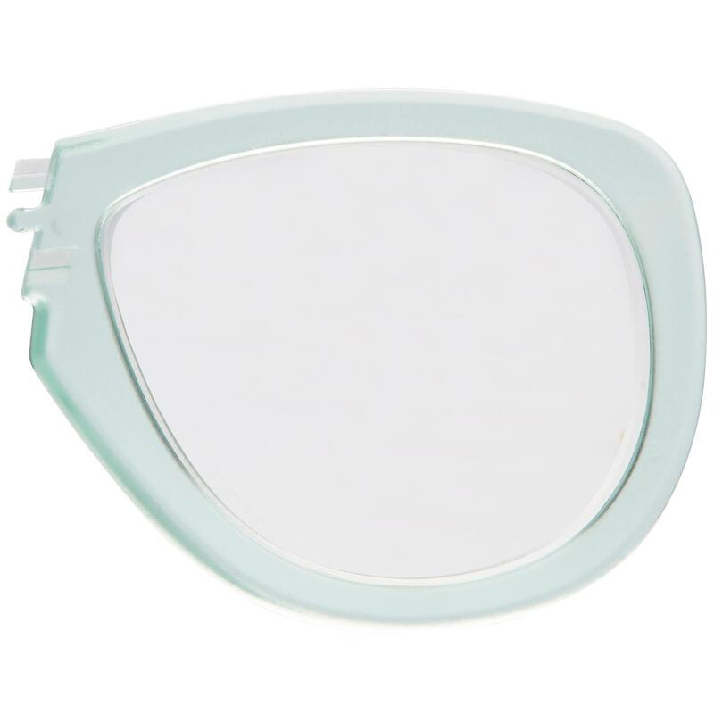 Left corrective lens for the short-sighted for Easybreath masks mint G