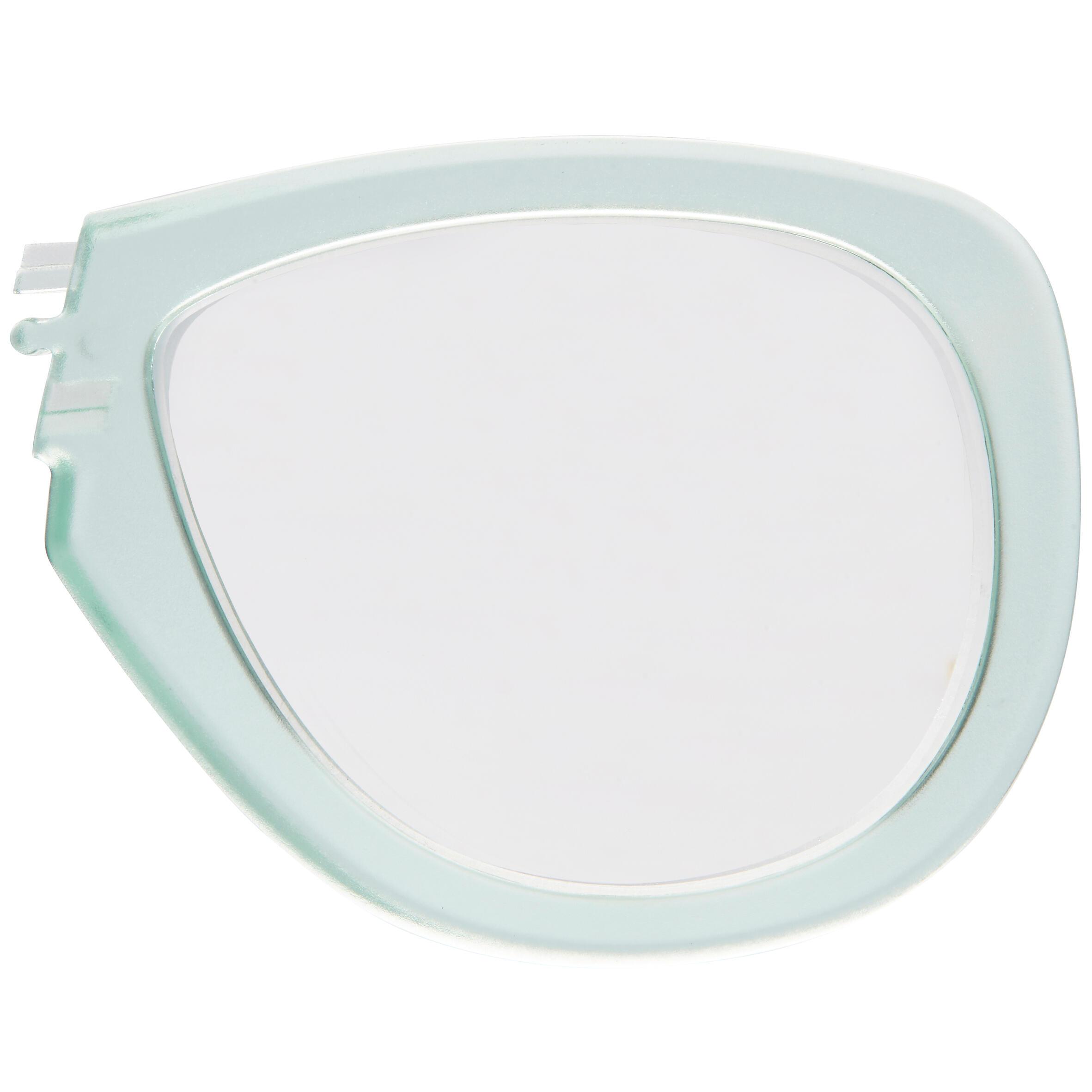 Korrekturglas links Kurzsichtigkeit für Easybreath-Maske mintgrün ...