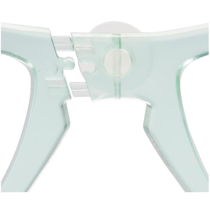 Korrekturglas links Kurzsichtigkeit für Easybreath-Maske mintgrün