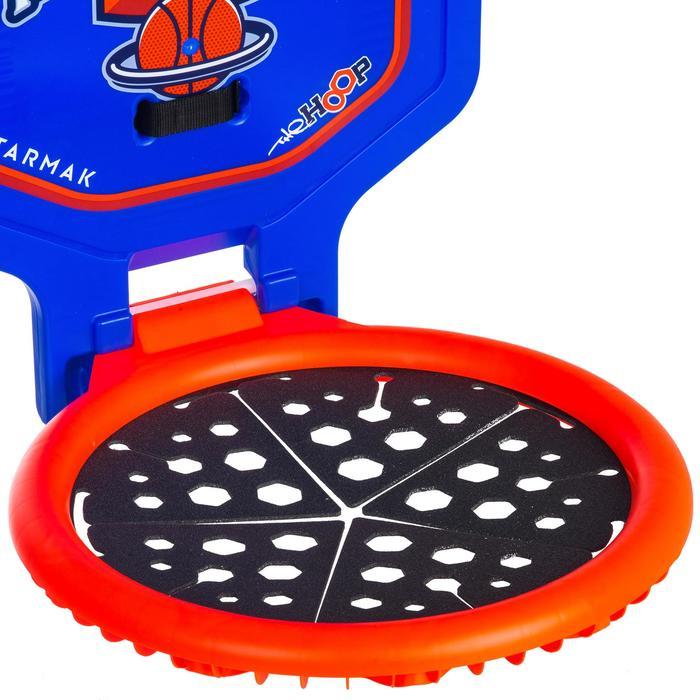 Panier de basket enfant/adulte THE HOOP Playground bleu orange. Transportable. - 1336386