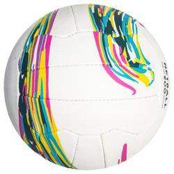 Balón de Netball NB900 Blanco para jugadores(as) de netball de nivel experto