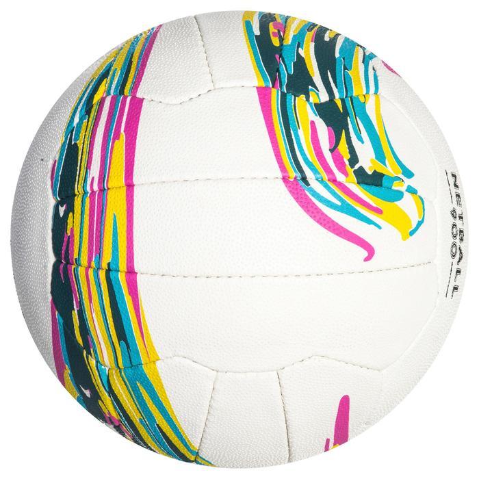Bal voor netbal NB900 wit voor gevorderde spelers en speelsters