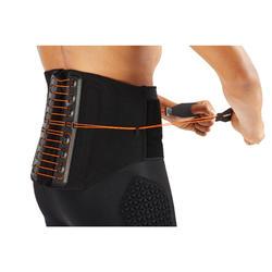 Lendenstützgurt Strong 900 Rückenbandage Erwachsene schwarz