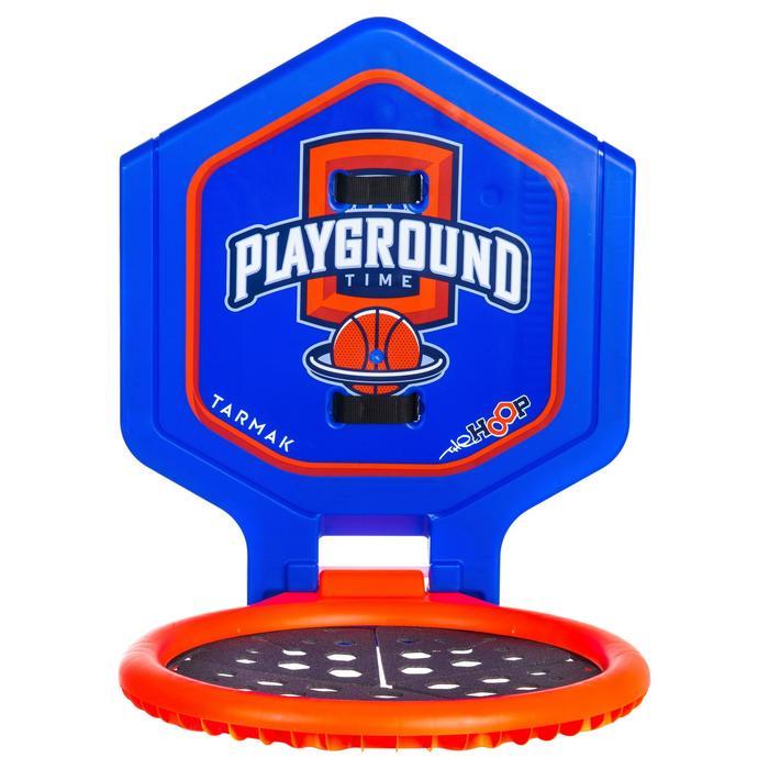 Panier de basket enfant/adulte THE HOOP Playground bleu orange. Transportable. - 1336406