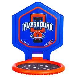Canasta de baloncesto THE HOOP Playground niños/adultos azul nar Transportable.