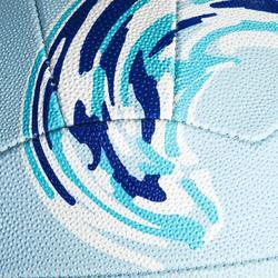 Balón de Netball NB500 Azul para jugadores(as) de nivel perfeccionamiento