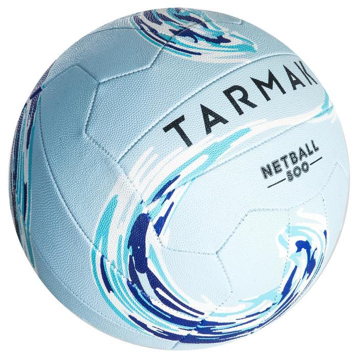 Ballon de Netball NB500 Bleu pour joueur, joueuse de netball confirmé(e)