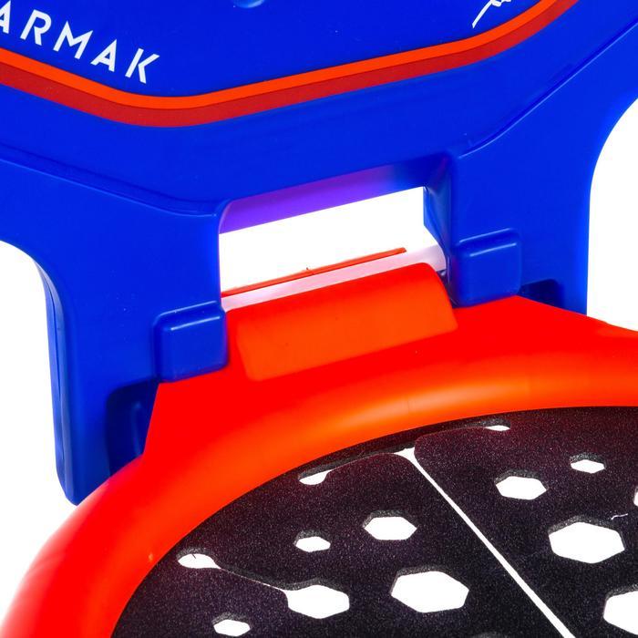 Panier de basket enfant/adulte THE HOOP Playground bleu orange. Transportable. - 1336415