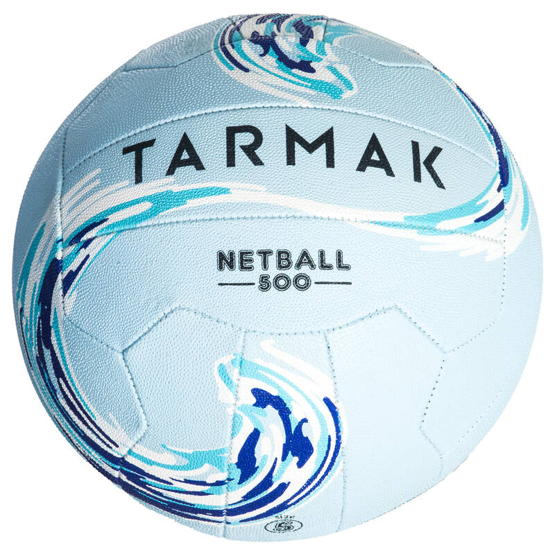 NETBALL Basketbal - MÍČ NETBALL 500 MODRÝ TARMAK - Basketbalové míče