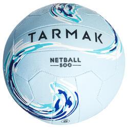 Bal Netbal NB500 blauw voor gevorderde spelers en speelsters