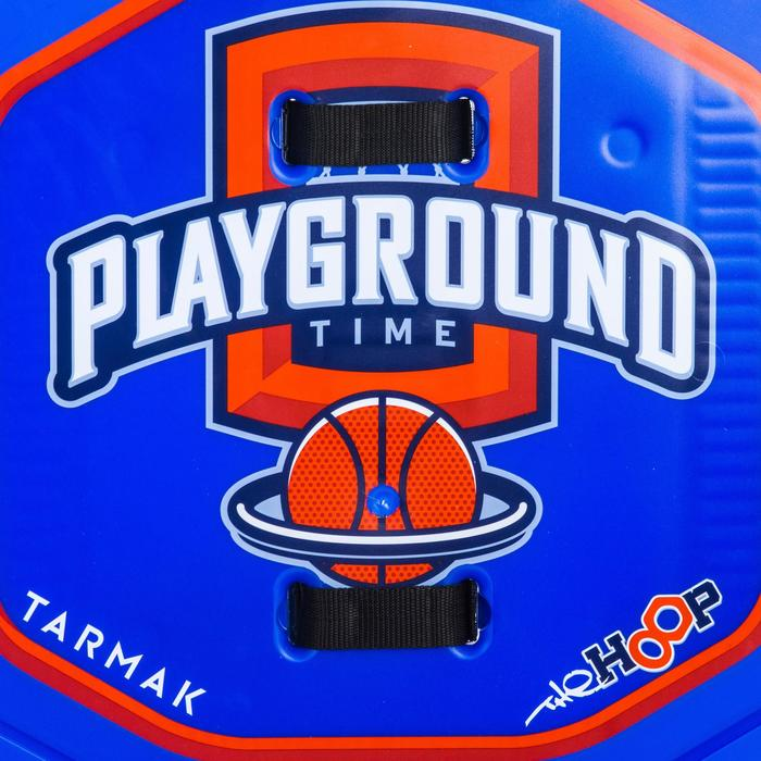 Panier de basket enfant/adulte THE HOOP Playground bleu orange. Transportable. - 1336418