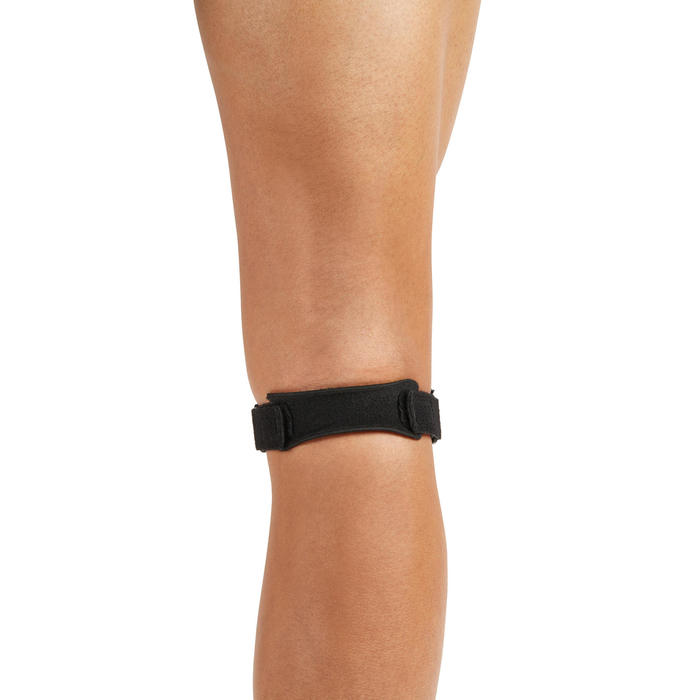 Kniebandage Kniegurt links/rechts Erwachsene schwarz