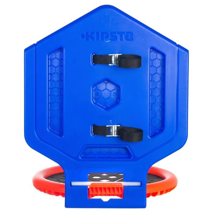 Panier de basket enfant/adulte THE HOOP Playground bleu orange. Transportable. - 1336424