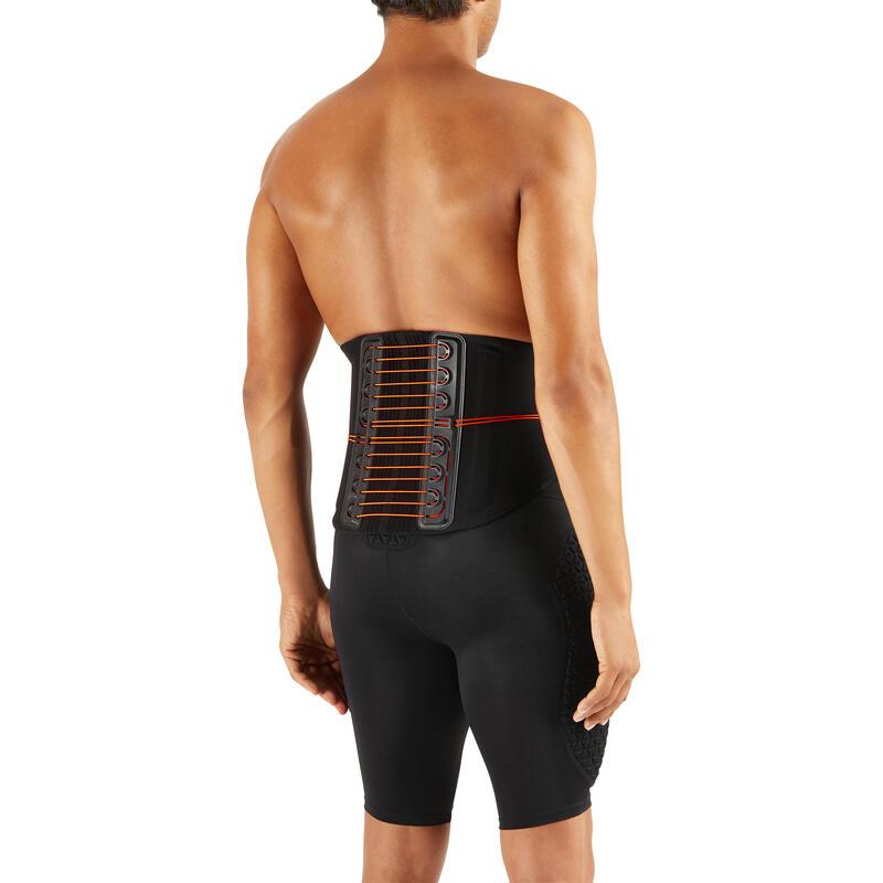 Strong 900 Men's/Women's Supportive Lumbar Brace - Black
